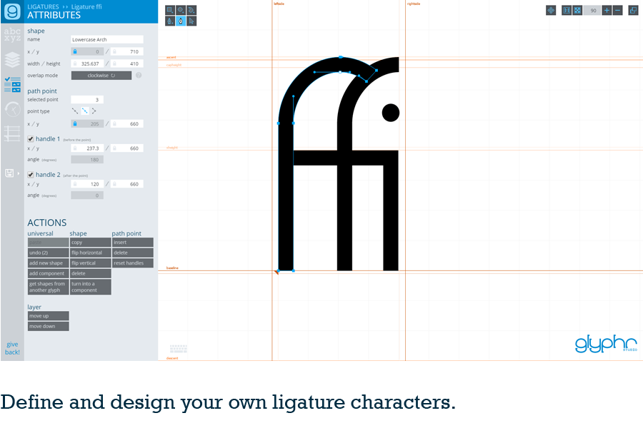 Components Ligatures